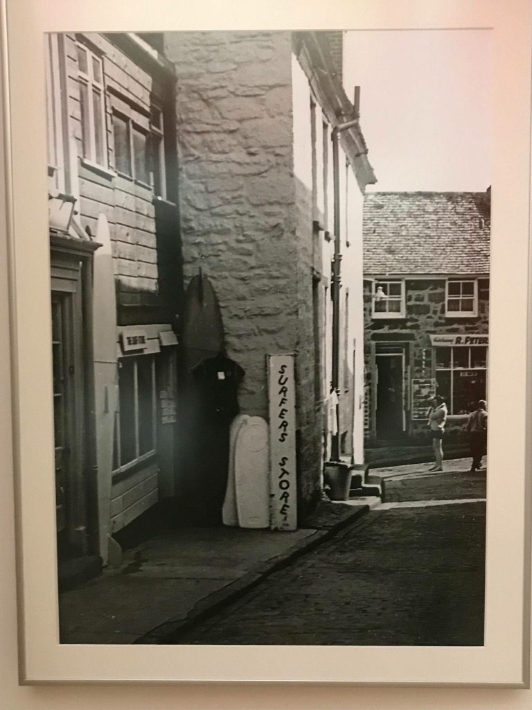 Britain's first surf shop, St Ives 1963