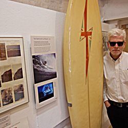 Acclaimed surfing author drops in