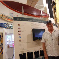 Iconic Australian shaper Kevin Cross visits