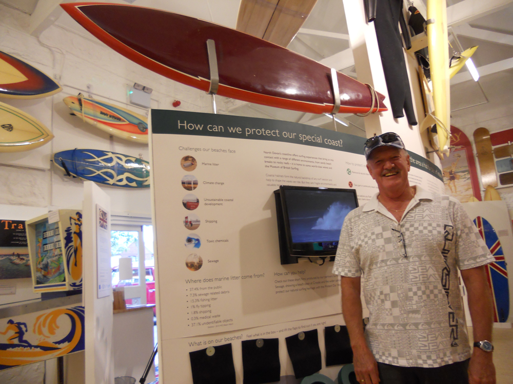 Iconic Australian shaper Kevin Cross visits