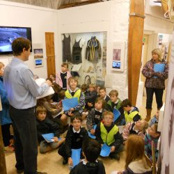 School visits the Museum of British Surfing