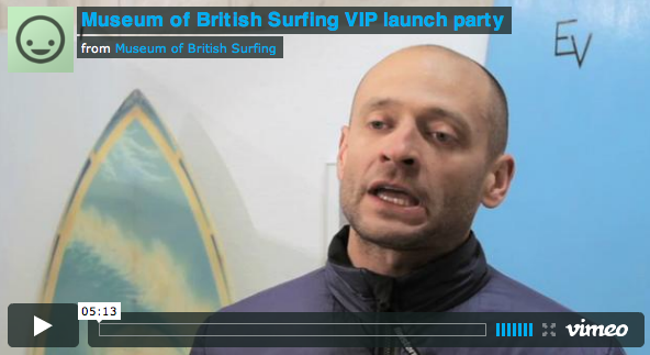 Museum of British Surfing VIP launch party
