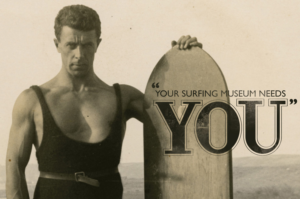Your surfing museum needs you!