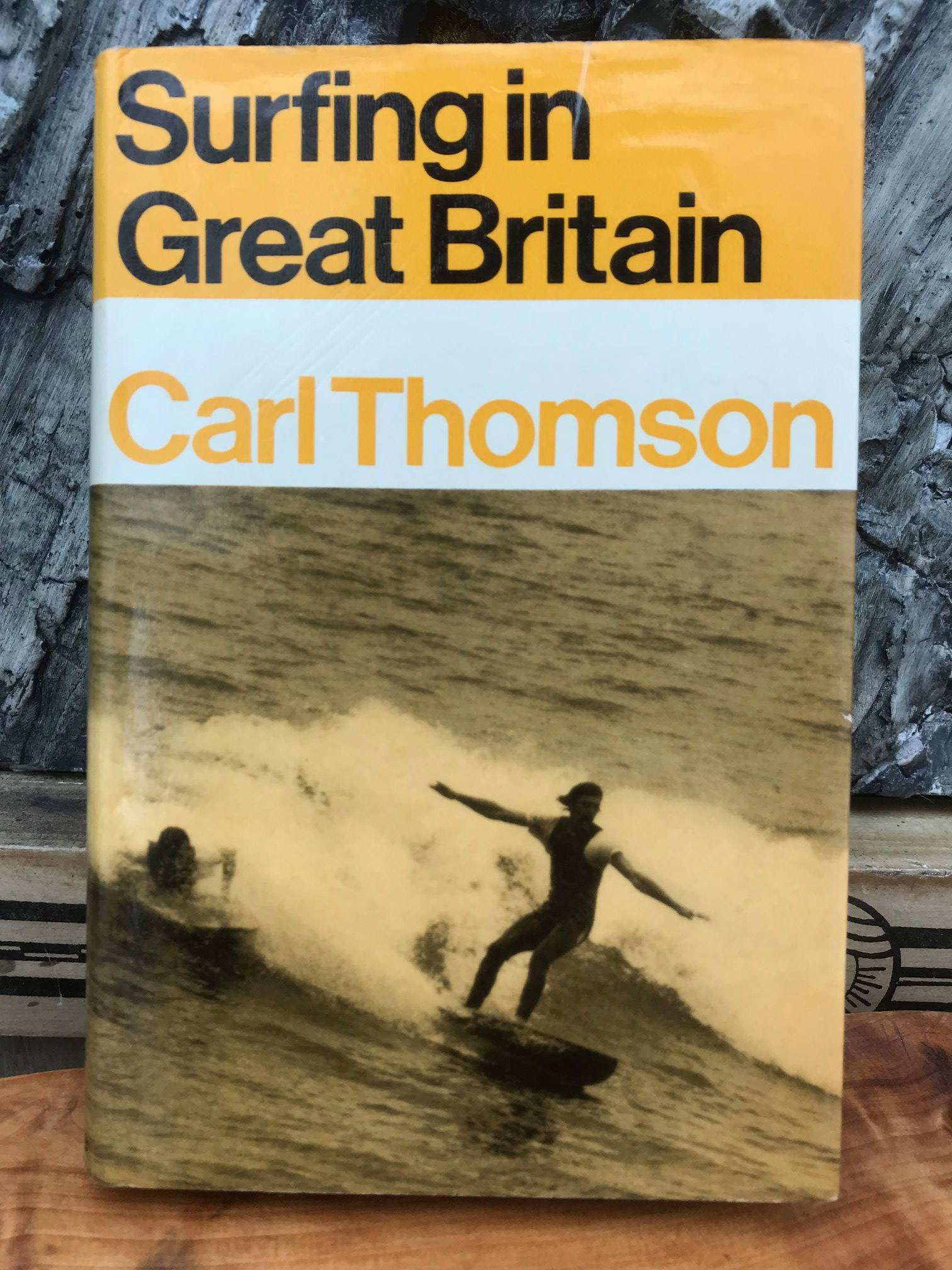 "Carl Thomsom's ""Surfing in Britain"""