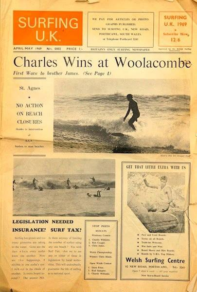 First UK Surfing Magazine held at the Museum of British Surfing