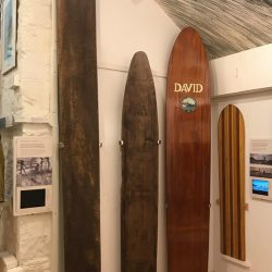 UK's Possibly Oldest Surfboard held at the Museum of British Surfing