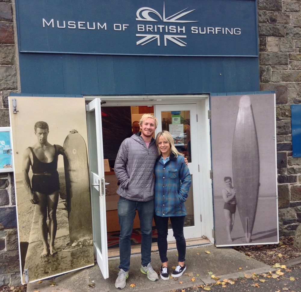 Olympian and big wave surfer visit surfing museum