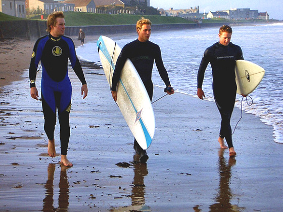 Prince William learns to surf