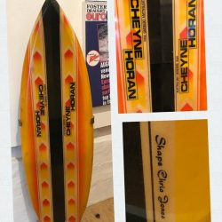 Rare Twin Fin Surfboard Produced by Tad Ciastula of Vitamin Sea