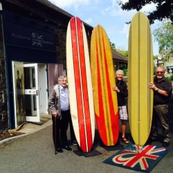 First wave of surfers drop-in on pioneers exhibition