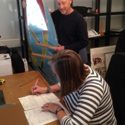 Work starts to catalogue Museum of British Surfing collection