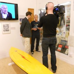 Museum of British Surfing on BBC antiques programme