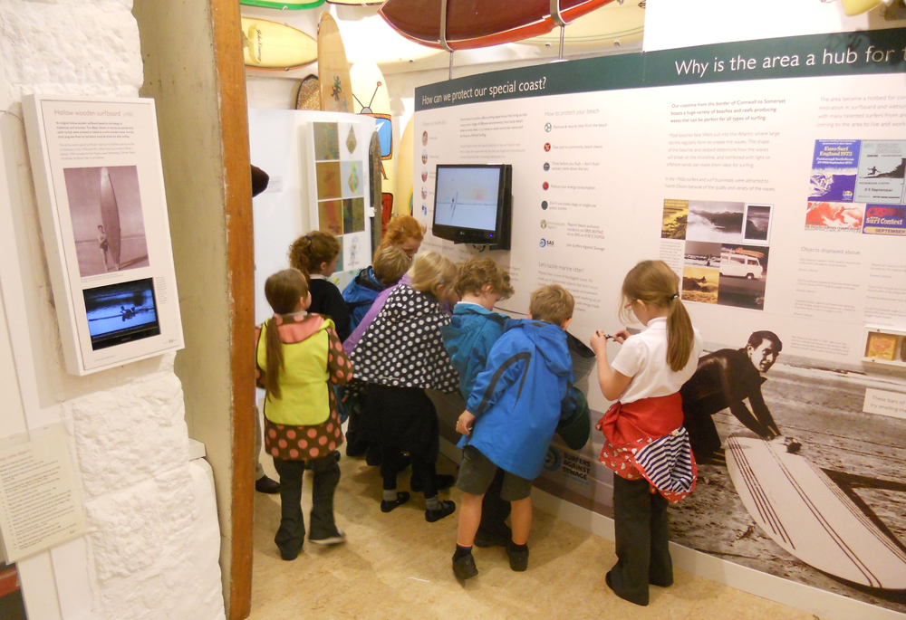 School half term at the Museum of British Surfing