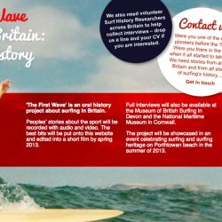 The First Wave – recording British surfing history