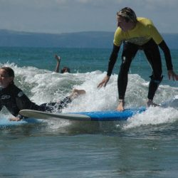 Book surfing lessons in North Devon & get surf museum visit!