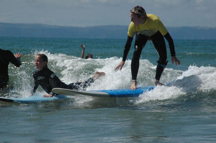 Book surfing lessons in North Devon & get surf museum visit!