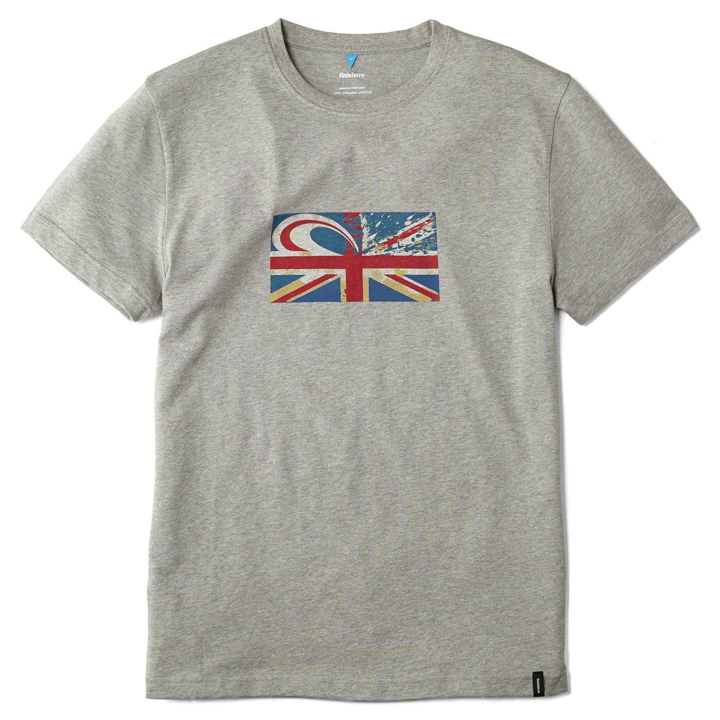 Union Jack wave logo on new surf museum shirts