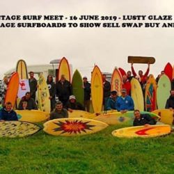 9th Lusty Glaze Vintage Surf Meet on 16th June