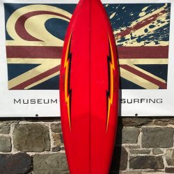 Fantastic Bolt Surfboard on Loan to the Museum of British Surfing