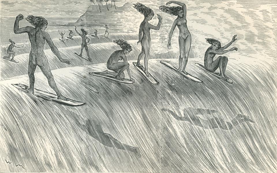 First European Written Account of Hawaiian Surfing!
