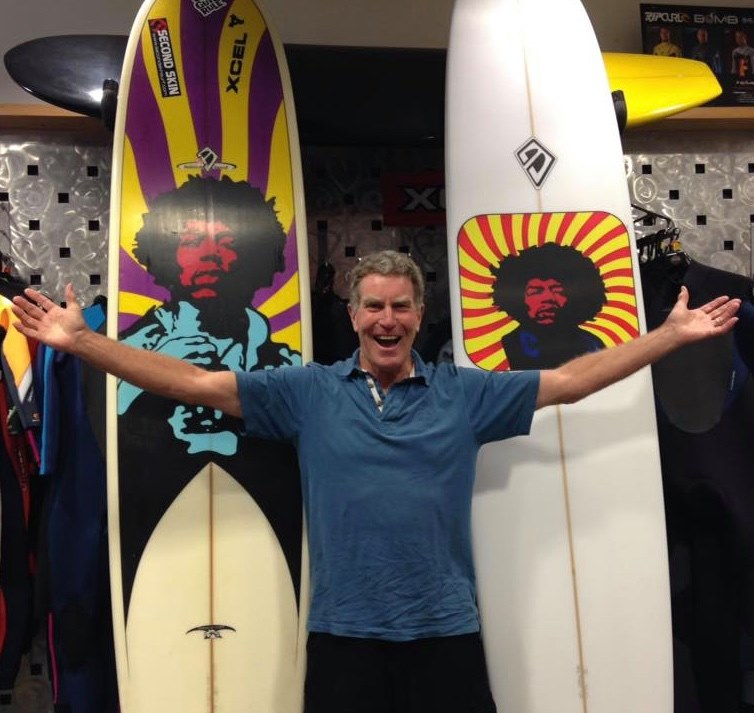 British Rockstars Who Surf